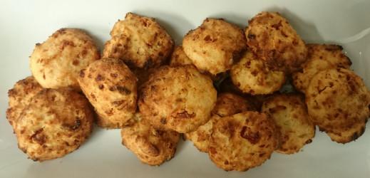 Cookies au chorizo et abricots secs